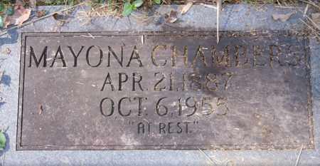 CHAMBERS, MAVONA - Boone County, West Virginia   MAVONA CHAMBERS - West Virginia Gravestone Photos