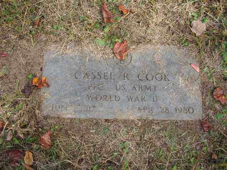 COOK (ARMY WWII), CASSEL R. - Boone County, West Virginia   CASSEL R. COOK (ARMY WWII) - West Virginia Gravestone Photos