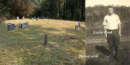 COOK, LESILE - Boone County, West Virginia | LESILE COOK - West Virginia Gravestone Photos