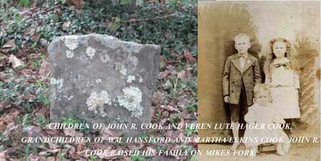 COOK, LON - Boone County, West Virginia   LON COOK - West Virginia Gravestone Photos