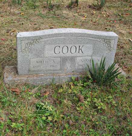 COOK, NESSEL NAOMI - Boone County, West Virginia | NESSEL NAOMI COOK - West Virginia Gravestone Photos