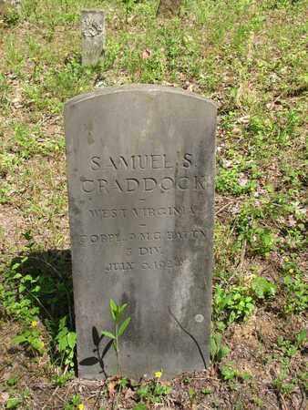 CRADDOCK (CORPL 9 CC BATTN DIV, SAMUEL S - Boone County, West Virginia | SAMUEL S CRADDOCK (CORPL 9 CC BATTN DIV - West Virginia Gravestone Photos