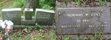 DENT  (ARMY WW II), NORMAN W. - Boone County, West Virginia | NORMAN W. DENT  (ARMY WW II) - West Virginia Gravestone Photos