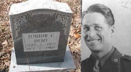 "DENT (ARMY WW II), JUNIOR C ""JAKE"" - Boone County, West Virginia   JUNIOR C ""JAKE"" DENT (ARMY WW II) - West Virginia Gravestone Photos"