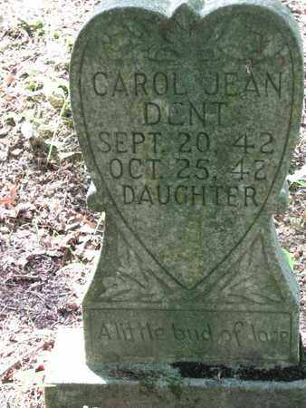 DENT, CAROL JEAN - Boone County, West Virginia | CAROL JEAN DENT - West Virginia Gravestone Photos