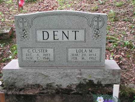 DENT, LOLA MOTTIS - Boone County, West Virginia | LOLA MOTTIS DENT - West Virginia Gravestone Photos
