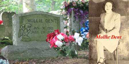DENT, MOLLIE - Boone County, West Virginia | MOLLIE DENT - West Virginia Gravestone Photos
