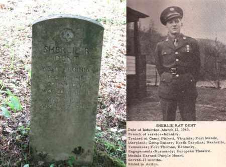 DENT PFC ( WW II ARMY), SHERLIE RAY - Boone County, West Virginia | SHERLIE RAY DENT PFC ( WW II ARMY) - West Virginia Gravestone Photos