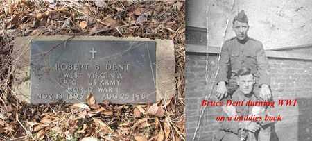 DENT (ARMY WW I), ROBERT BRUCE - Boone County, West Virginia | ROBERT BRUCE DENT (ARMY WW I) - West Virginia Gravestone Photos