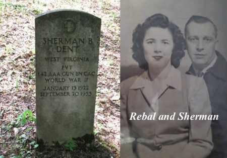 DENT, SHERMAN B. - Boone County, West Virginia | SHERMAN B. DENT - West Virginia Gravestone Photos