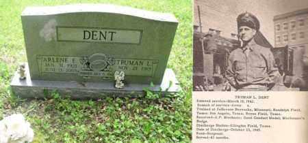 DENT, TRUMAN L. - Boone County, West Virginia   TRUMAN L. DENT - West Virginia Gravestone Photos
