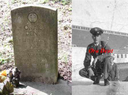 DENT (US AIR FORCE KOREA), ORA B. - Boone County, West Virginia | ORA B. DENT (US AIR FORCE KOREA) - West Virginia Gravestone Photos