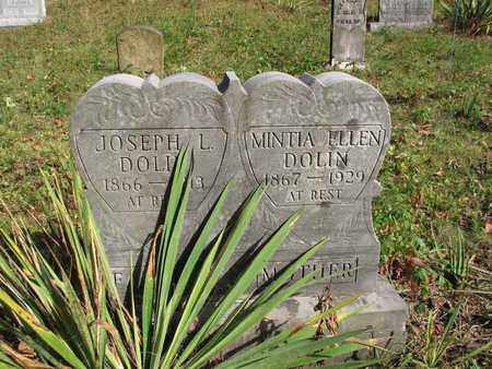 DOLIN, JOSEPH L. - Boone County, West Virginia | JOSEPH L. DOLIN - West Virginia Gravestone Photos
