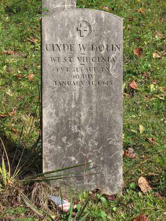 DOLIN (VETERAN WWI, CLYDE W. - Boone County, West Virginia | CLYDE W. DOLIN (VETERAN WWI - West Virginia Gravestone Photos
