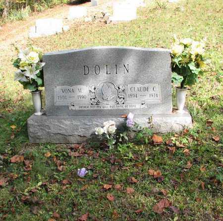 DOLIN, VONA M. - Boone County, West Virginia | VONA M. DOLIN - West Virginia Gravestone Photos