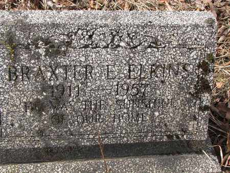 ELKINS, BRAXTER E. - Boone County, West Virginia | BRAXTER E. ELKINS - West Virginia Gravestone Photos