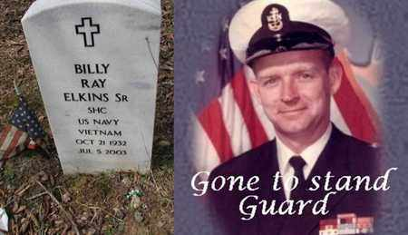 ELKINS SR. (NAVY VIETNAM), BILLY RAY - Boone County, West Virginia | BILLY RAY ELKINS SR. (NAVY VIETNAM) - West Virginia Gravestone Photos