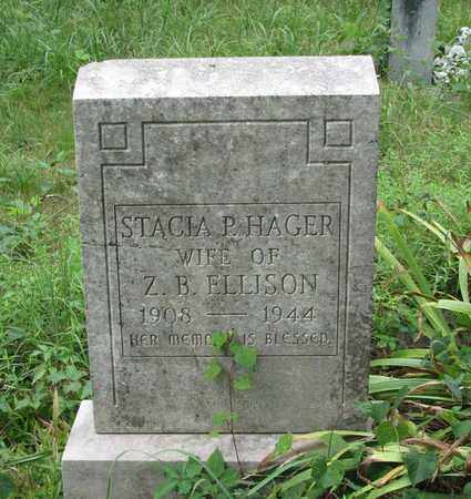 HAGER ELLISON, STACIA P. - Boone County, West Virginia | STACIA P. HAGER ELLISON - West Virginia Gravestone Photos