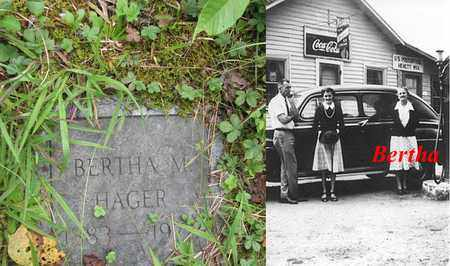 HAGER, BERTHA MAE - Boone County, West Virginia | BERTHA MAE HAGER - West Virginia Gravestone Photos