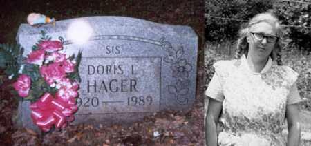 "HAGER, DORIS L. ""SIS"" - Boone County, West Virginia | DORIS L. ""SIS"" HAGER - West Virginia Gravestone Photos"