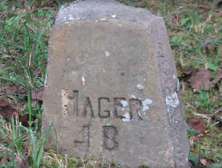 HAGER, JOHN B. - Boone County, West Virginia | JOHN B. HAGER - West Virginia Gravestone Photos