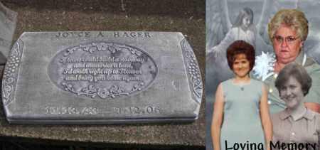 HAGER, JOYCE ANN - Boone County, West Virginia   JOYCE ANN HAGER - West Virginia Gravestone Photos