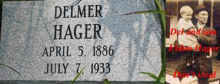 HAGER, LORENZO DELMER - Boone County, West Virginia | LORENZO DELMER HAGER - West Virginia Gravestone Photos