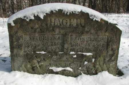 HAGER, SPICY ANN - Boone County, West Virginia | SPICY ANN HAGER - West Virginia Gravestone Photos