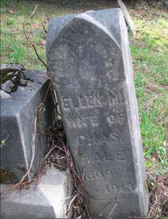 HALE, ELLEN - Boone County, West Virginia   ELLEN HALE - West Virginia Gravestone Photos