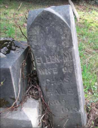 HALE, ELLEN - Boone County, West Virginia | ELLEN HALE - West Virginia Gravestone Photos
