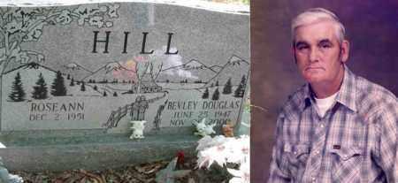 HILL, BEVLEY DOUGLAS - Boone County, West Virginia | BEVLEY DOUGLAS HILL - West Virginia Gravestone Photos