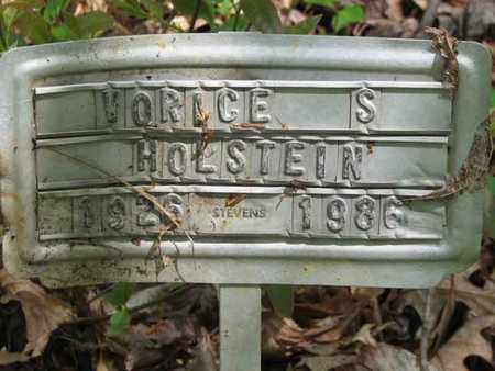 HOLSTEIN, VORICE SPENCER - Boone County, West Virginia | VORICE SPENCER HOLSTEIN - West Virginia Gravestone Photos