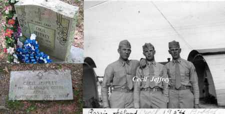 JEFFREY  (KOREA  MARINE), CECIL - Boone County, West Virginia | CECIL JEFFREY  (KOREA  MARINE) - West Virginia Gravestone Photos