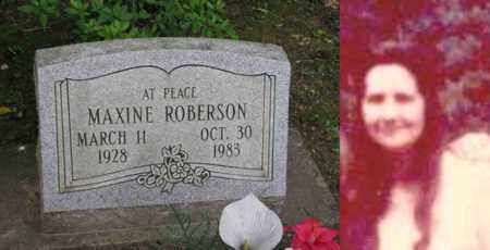MAXINE, ROBERSON - Boone County, West Virginia | ROBERSON MAXINE - West Virginia Gravestone Photos