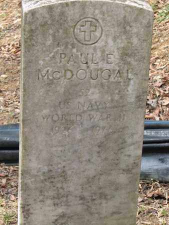MCDOUGAL (NAVY WW II), PAUL E. - Boone County, West Virginia | PAUL E. MCDOUGAL (NAVY WW II) - West Virginia Gravestone Photos