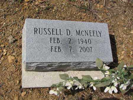 MCNEELY, RUSSELL D. - Boone County, West Virginia | RUSSELL D. MCNEELY - West Virginia Gravestone Photos