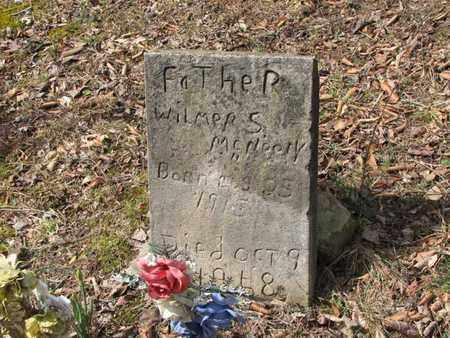 MCNEELY, WILMER S. - Boone County, West Virginia | WILMER S. MCNEELY - West Virginia Gravestone Photos