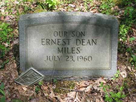 MILES, ERNEST DEAN - Boone County, West Virginia   ERNEST DEAN MILES - West Virginia Gravestone Photos