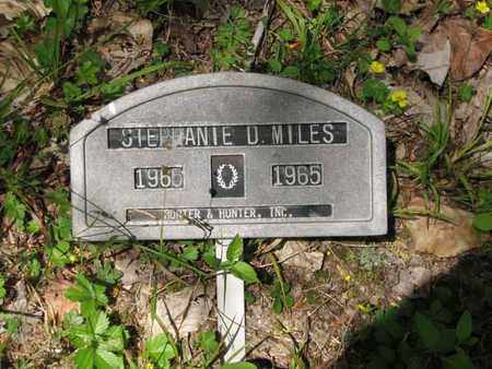 MILES, STEPHANIE D - Boone County, West Virginia | STEPHANIE D MILES - West Virginia Gravestone Photos