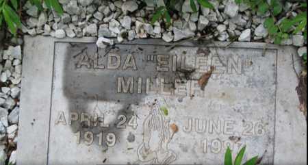 MILLER, ALDA EILEEN - Boone County, West Virginia | ALDA EILEEN MILLER - West Virginia Gravestone Photos