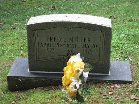 MILLER, FRED E - Boone County, West Virginia | FRED E MILLER - West Virginia Gravestone Photos