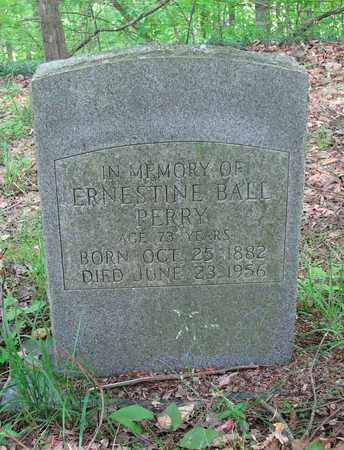 BALL PERRY, ERNESTINE - Boone County, West Virginia | ERNESTINE BALL PERRY - West Virginia Gravestone Photos