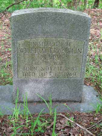 PERRY, WILLIAM FRANKLIN - Boone County, West Virginia | WILLIAM FRANKLIN PERRY - West Virginia Gravestone Photos
