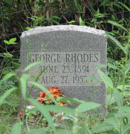RHODES, GEORGE - Boone County, West Virginia | GEORGE RHODES - West Virginia Gravestone Photos
