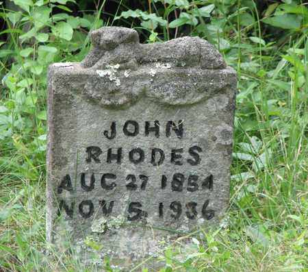 RHODES, JOHN - Boone County, West Virginia | JOHN RHODES - West Virginia Gravestone Photos