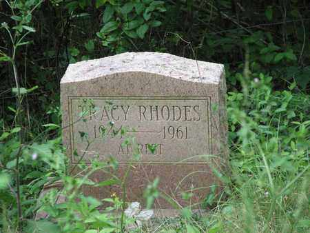 RHODES, TRACY - Boone County, West Virginia | TRACY RHODES - West Virginia Gravestone Photos