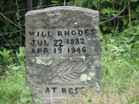 RHODES, WILLIAM  (WILL) - Boone County, West Virginia | WILLIAM  (WILL) RHODES - West Virginia Gravestone Photos