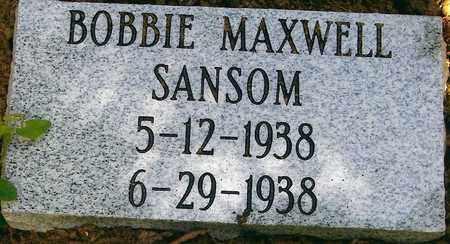 SANSOM, BOBBIE MAXWELL - Boone County, West Virginia | BOBBIE MAXWELL SANSOM - West Virginia Gravestone Photos