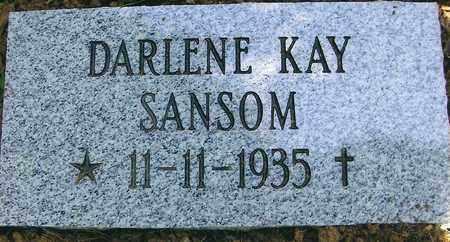 SANSOM, DARLENE KAY - Boone County, West Virginia | DARLENE KAY SANSOM - West Virginia Gravestone Photos