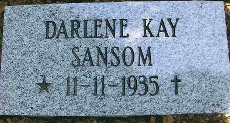 SANSOM, DARLENE KAY - Boone County, West Virginia | DARLENE KAY SANSOM - West Virginia Gravestone Photos
